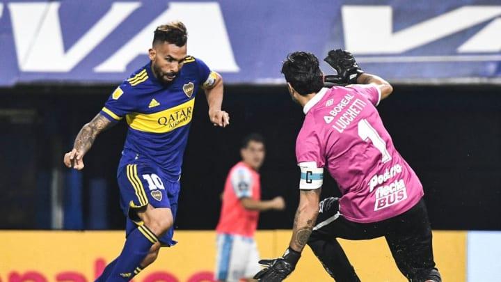 Carlos Tevez, Cristian Lucchetti
