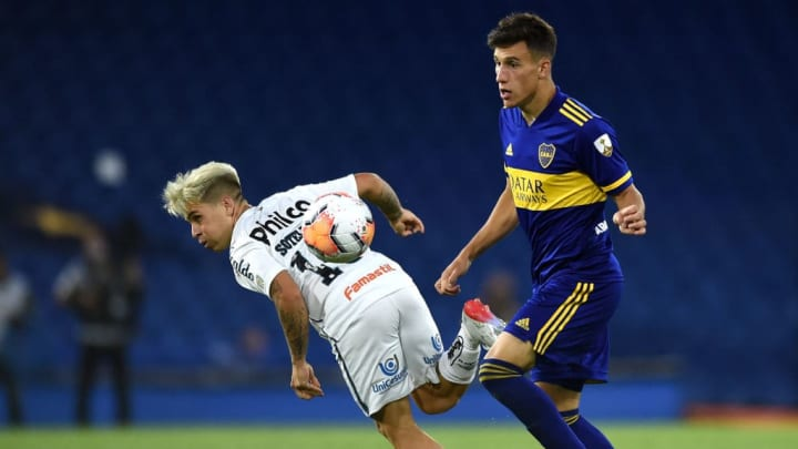 Boca Juniors v Santos - Copa CONMEBOL Libertadores 2020.