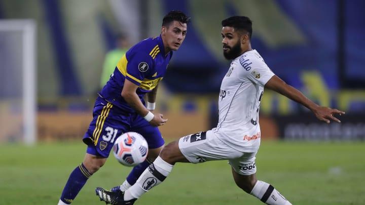 Boca venceu o Santos em La Bombonera