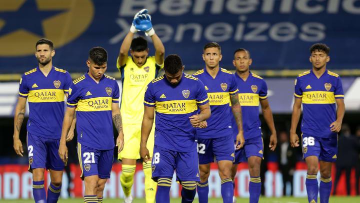 Boca Juniors v Talleres - Copa de la Liga Profesional 2021 - Boca perdió como local frente a Talleres.