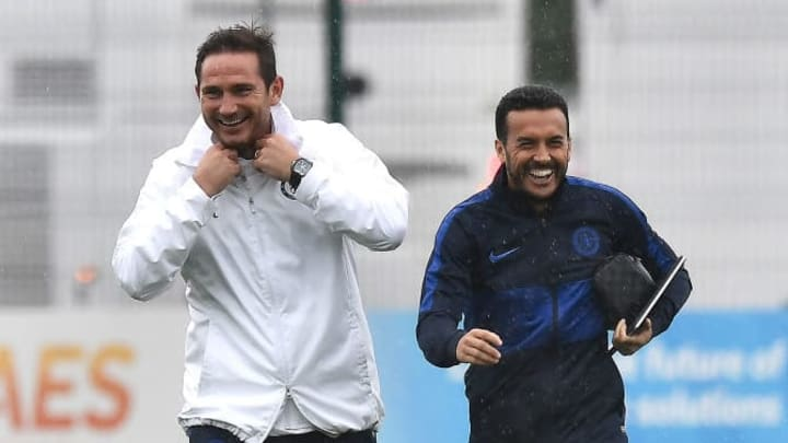 Frank Lampard, Pedro, Izzy Brown