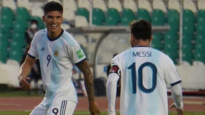 Joaquin Correa, Lionel Messi