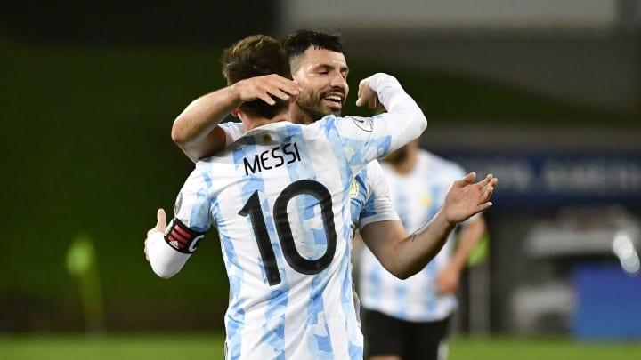 Bolivia v Argentina: Group A - Copa America Brazil 2021 - Messi y Aguero, la nueva dupla del FC Barcelona.