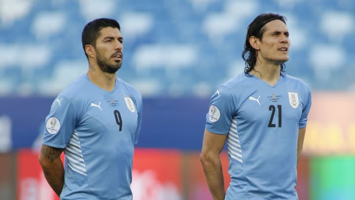 Suárez y Cavani no podrán estar en las eliminatorias sudamericanas