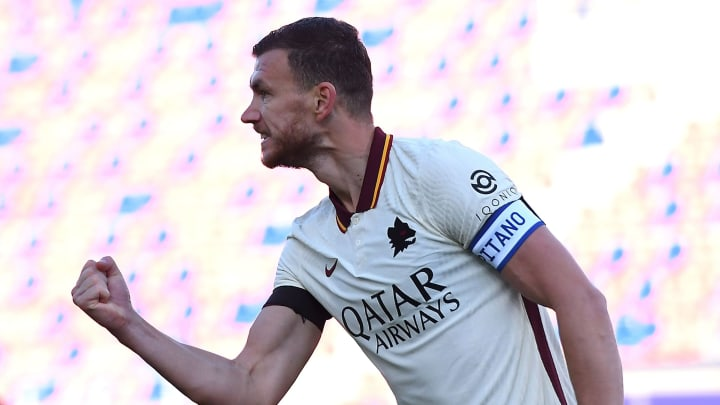 Dzeko is being linked with a move away from AS Roma - again