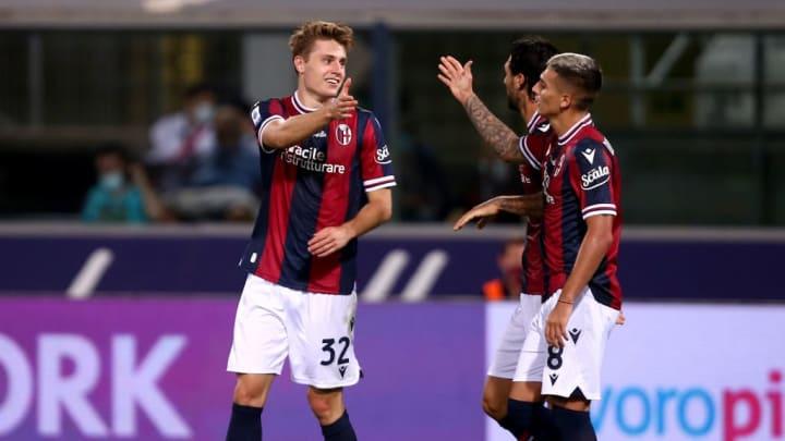 Bologna Hellas Verona Serie A Mattias Svanberg Inter de Milão