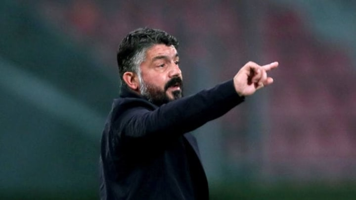 Genaro Gattuso could see his Napoli slide out of the top six if results don't go his way this weekend