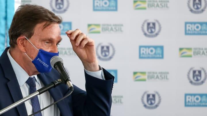 Bolsonaro Participates in the Opening of Escola Civico Militar in Rio de Janeiro  Amidst the
