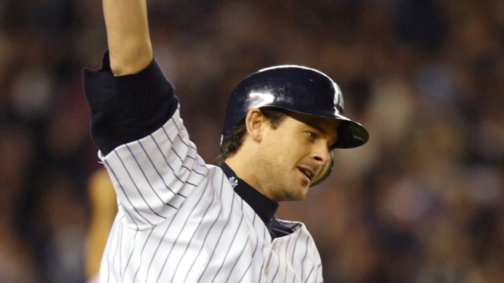 Aaron Boone broke Red Sox fans hearts with his game-winning home run in Game 7 of the 2003 ALCS.