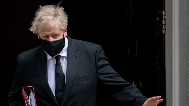 Boris Johnson and his government are against the Super League