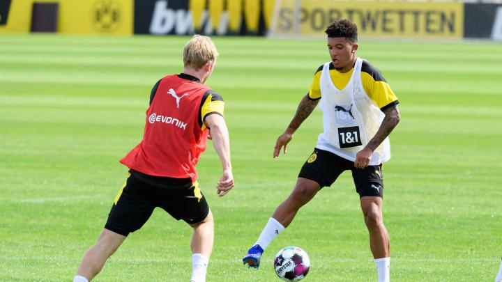 Jadon Sancho là mục tiêu hàng đầu của Manchester United vào mùa hè này