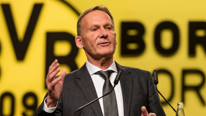 Auf der Jahreshauptversammlung ordnete Hans-Joachim Watzke die BVB-Zahlen ein