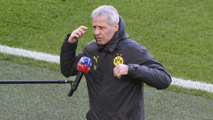 Lucien Favre couldn't agree with Crystal Palace over transfer plans