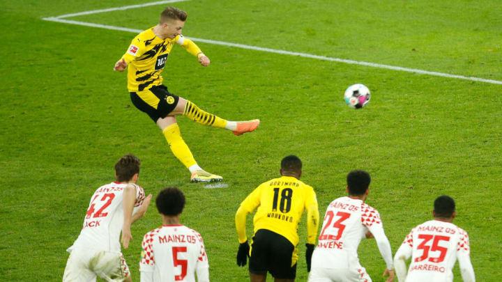 Marco Reus Bundesliga Mainz 05 Borussia Dortmund Champions League