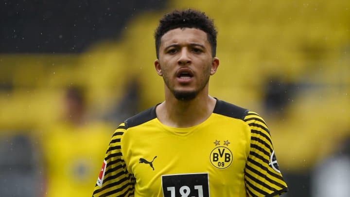 Jadon Sancho has long been admired by Manchester United