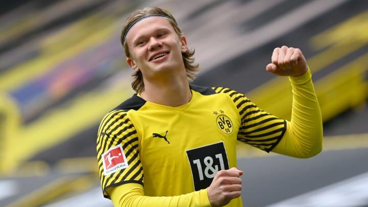 Vínculo do norueguês no Dortmund vai até 2024.