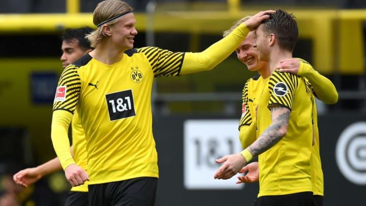 Marco Reus, Erling Haaland, Julian Brandt