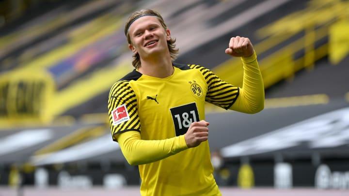 Erling Haaland wurde zum Bundesliga-Spieler der Saison gekürt