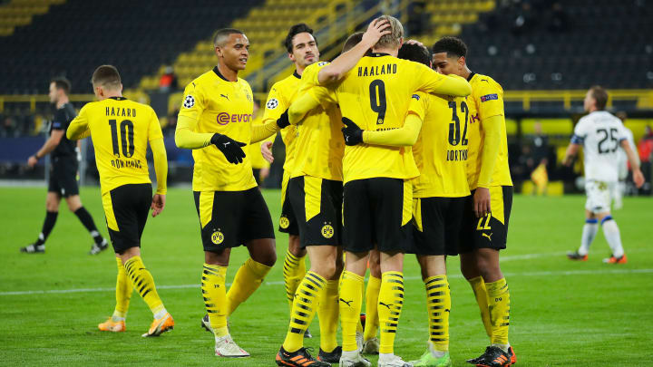 Dortmund remain top of Group F