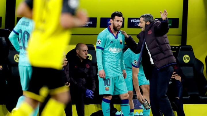 Borussia Dortmund v FC Barcelona - UEFA Champions League