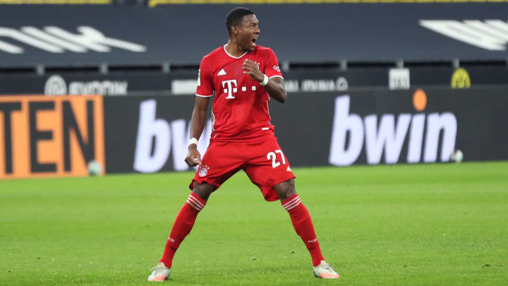 Alaba is heading for the exit door at Bayern