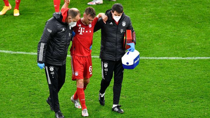 Kimmichs Verletzung war ein Schock für die Bayern