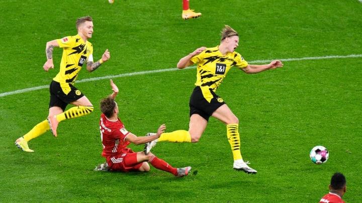 Tình huống Kimmich bị chấn thương trong trận đấu với Dortmund