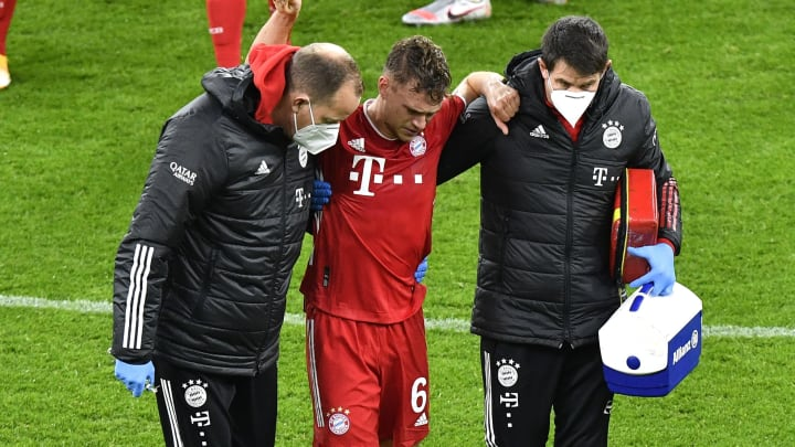 Kimmich has missed Bayern's last eight game since being injured.