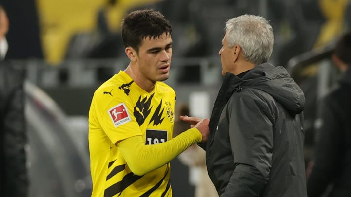 Giovanni Reyna, Lucien Favre