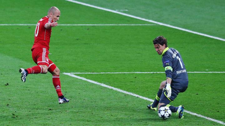 Arjen Robben, Roman Weidenfeller