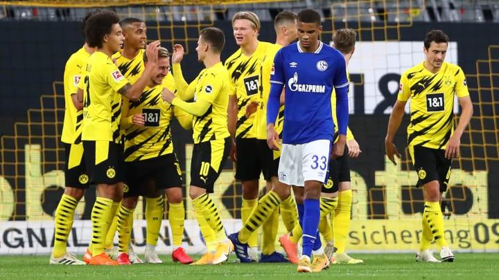 Dortmund gewann das Derby mit 3:0