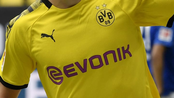 2020 21 Borussia Dortmund Home Shirt Featuring New Sponsor Is Leaked