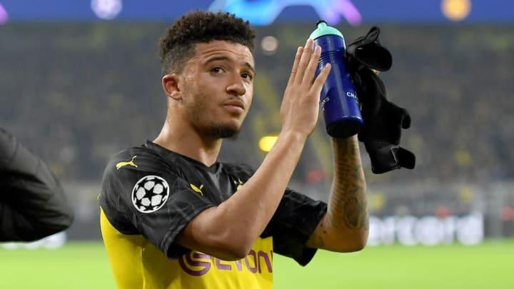 Jadon Sancho Barcelona Borussia Dortmund