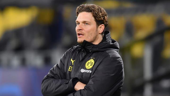 Stand im Hinspiel erstmals als Cheftrainer an der Seitenlinie: Edin Terzic