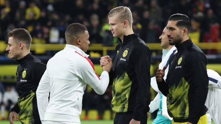Mbappé e Haaland estão em busca de primeiro título europeu