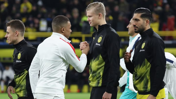"""Dortmund Legend Claims Erling Haaland Isn't World-Class Yet; Kylian Mbappe """"Has More Potential"""""""