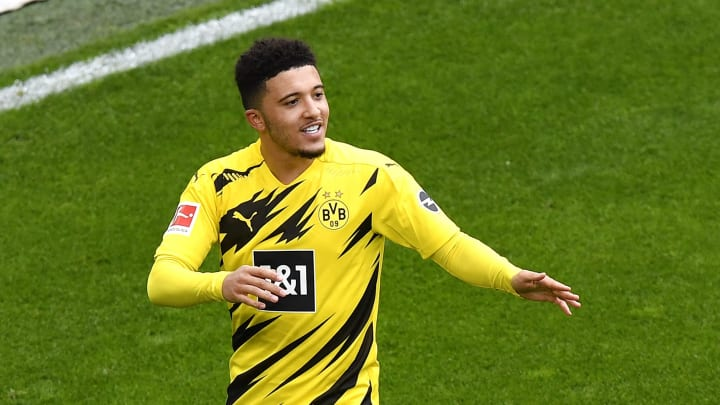 Jadon Sancho is being heavily linked with a move to Old Trafford once again