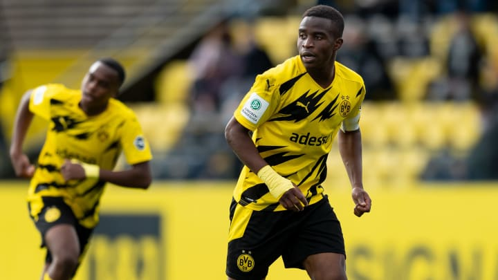 Moukoko is now eligible to feature for Dortmund's senior side