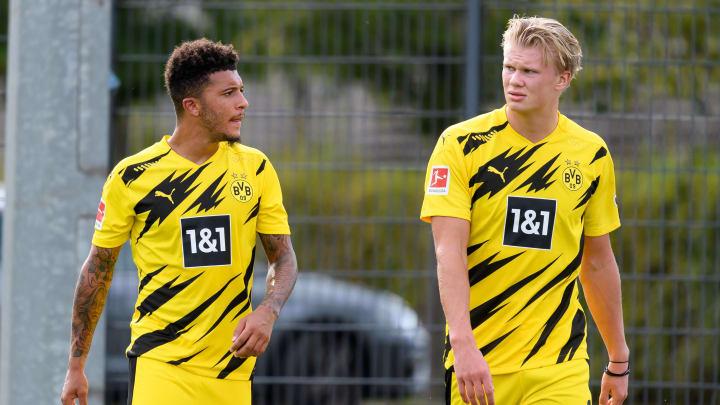 Die BVB-Youngster Sancho und Haaland sind zwei der Topfavoriten auf die Auszeichnung