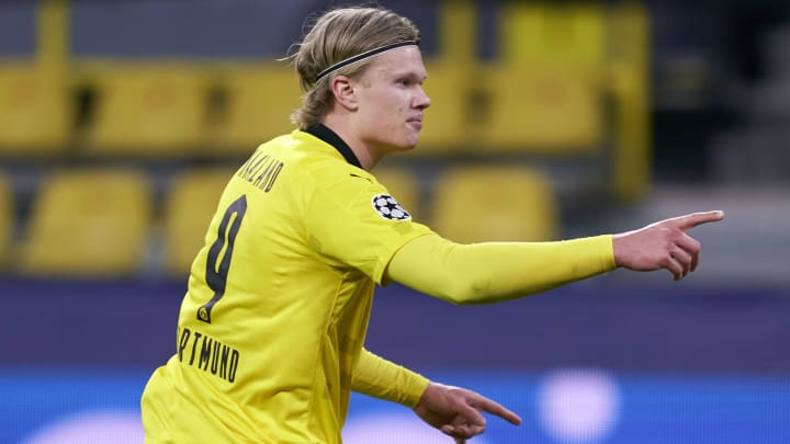 Barcelona are keen on Erling Haaland
