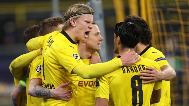 Erling Haaland, Mahmoud Dahoud Borussia Dortmund