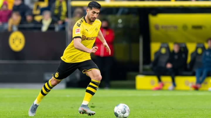 Can is contracted to play for Dortmund until 2024