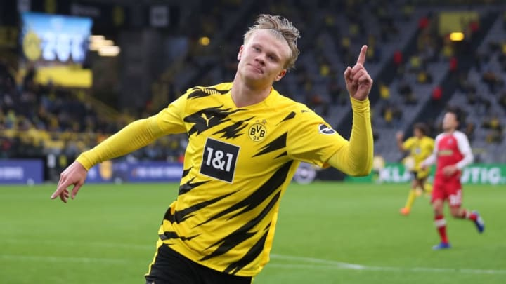 Erling Haaland Barcelona Borussia Dortmund