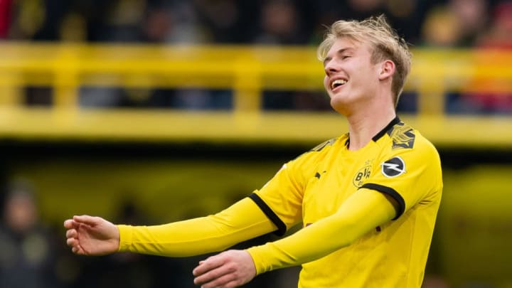 Julian Brandt's capacity to rotate, exploit space and combine saw him stand out against Schalke, notching a pair of assists