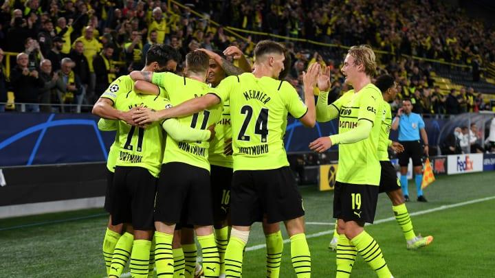 Dortmund feiert den zweiten Sieg im zweiten CL-Spiel