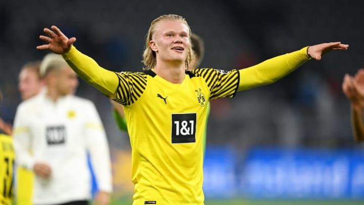 Erling Haaland Champions League Borussia Dortmund