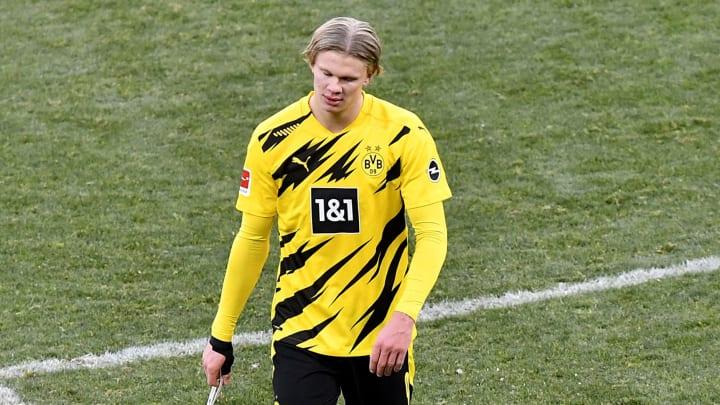 Erling Haaland ist enttäuscht nach dem Hoffenheim-Spiel