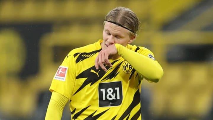 Erling Haaland has 35 goal in 35 games for Dortmund