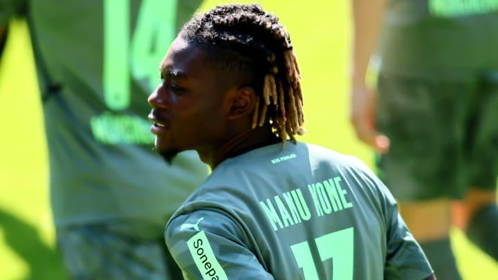 Manu Koné wird erstmals im Kader der Borussia stehen