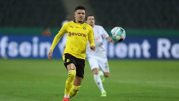 Jadon Sancho Borussia Dortmund Champions League PSG Manchester United